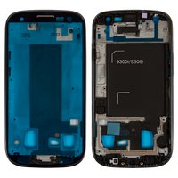LCD Binding Frame for Samsung I9300i Galaxy S3 Duos Cell Phone, (black)