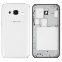 Housing for Samsung G360H Galaxy Core Prime Cell Phone, (white)