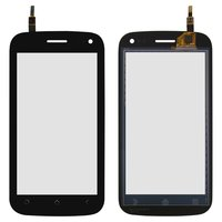 Touchscreen for Fly IQ450Q Cell Phone, (black) #FPC-TP10754A-V2