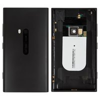Housing for Nokia 920 Lumia Cell Phone, (black, with side button)
