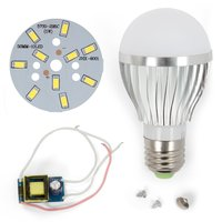 LED Lamp DIY Kit SQ-Q02 5730 5 W (cold white, E27)