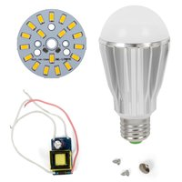 LED Lamp DIY Kit SQ-Q17 9 W (warm white, E27)