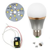 LED Light Bulb DIY Kit SQ-Q22 5730 5 W (cold white, E27)