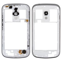 Housing Middle Part for Samsung S7562, S7582 Galaxy Trend Plus Duos Cell Phones, (white)
