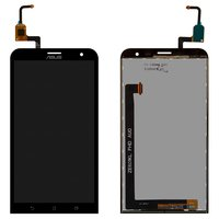LCD for Asus ZenFone 2 Laser (ZE601KL) Cell Phone, (black, with touchscreen)