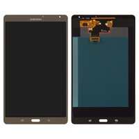 LCD for Samsung T700 Galaxy Tab S 8.4 Tablet, (bronze, with touchscreen, (version Wi-Fi))