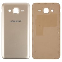 Battery Back Cover for Samsung J500H/DS Galaxy J5 Cell Phone, (golden)