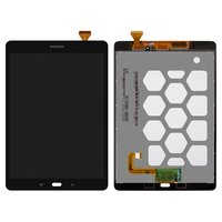 LCD for Samsung T550 Galaxy Tab A 9.7 , T555 Galaxy Tab A 9.7 LTE Tablets, (black, with touchscreen)