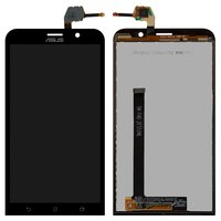 LCD for Asus ZenFone 2 (ZE551ML) Cell Phone, (black, with touchscreen)