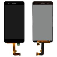 LCD for Huawei Honor 6 Plus Cell Phone, (black, with touchscreen)