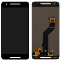 LCD for Huawei Nexus 6P Cell Phone, (black, with touchscreen)