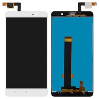 LCD for Xiaomi Redmi Note 3 Cell Phone, (white, with touchscreen)
