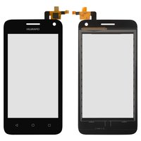 Touchscreen for Huawei Ascend Y360 Cell Phone, (black)