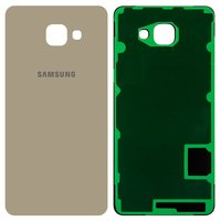 Housing Back Cover for Samsung A710F Galaxy A7 (2016) Cell Phone, (golden)
