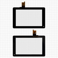 Touchscreen for Huawei MediaPad S7-301, MediaPad S7-301C, MediaPad S7-301U Tablets, (black, 9 pin, (185*119 mm), 7