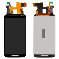 LCD for Motorola XT1572 Moto X Style Cell Phone, (black, with touchscreen)