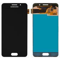 LCD for Samsung A310F Galaxy A3 (2016), A310M Galaxy A3 (2016), A310N Galaxy A3 (2016), A310Y Galaxy A3 (2016) Cell Phones, (black, with touchscreen)