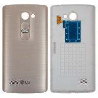 Battery Back Cover for LG H324 Leon Y50 Cell Phone, (golden)