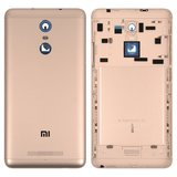 Battery Back Cover for Xiaomi Redmi Note 3 Cell Phone, (golden, original (PRC), with side button)