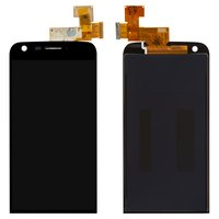 LCD for LG G5 H820, G5 H830, G5 H850, G5 LS992, G5 US992, G5 VS987 Cell Phones, (black, with touchscreen)