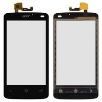 Touchscreen for Acer Z160 Liquid Z4 Cell Phone, (black)
