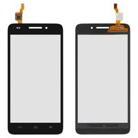 Touchscreen for Huawei G620S Cell Phone, (black)