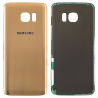 Housing Back Cover for Samsung G935F Galaxy S7 EDGE Cell Phone, (golden)