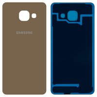 Housing Back Cover for Samsung A310F Galaxy A3 (2016), A310M Galaxy A3 (2016), A310N Galaxy A3 (2016), A310Y Galaxy A3 (2016) Cell Phones, (golden)