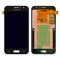 LCD for Samsung J120H Galaxy J1 (2016) Cell Phone, (black, with touchscreen)
