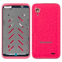 Housing for Lenovo S720 Cell Phone, (red)
