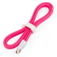 USB Data Cable (micro-USB) for All Brands universal Cell Phone, (pink)