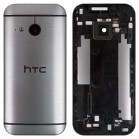 Housing Back Cover for HTC One M8 mini Cell Phone, (grey)