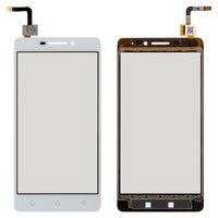 Touchscreen for Lenovo Vibe P1m Cell Phone, (white)