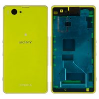 Housing for Sony D5503 Xperia Z1 Compact Mini Cell Phone, (yellow)