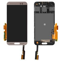 LCD for HTC One M9+ Cell Phone, (silver, with touchscreen)