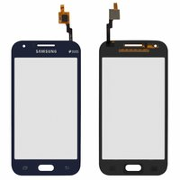 Touchscreen for Samsung J100H/DS Galaxy J1 Cell Phone, (dark blue)