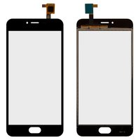 Touchscreen for Meizu M3, M3s Mini Cell Phones, (black)