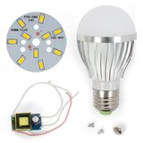 LED Light Bulb DIY Kit SQ-Q02 5730 5 W (warm white, E27), Dimmable