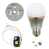 LED Light Bulb DIY Kit SQ-Q22 5730 5 W (warm white, E27), Dimmable