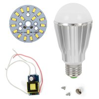 LED Lamp DIY Kit SQ-Q17 9 W (cold white, E27), Dimmable