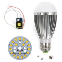 LED Lamp DIY Kit SQ-Q03 9 W (warm white, E27), Dimmable