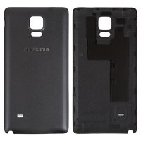 Battery Back Cover for Samsung N910F Galaxy Note 4, N910H Galaxy Note 4 Cell Phones, (black)