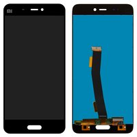 LCD for Xiaomi Mi5 Cell Phone, (black, original (PRC), with touchscreen)