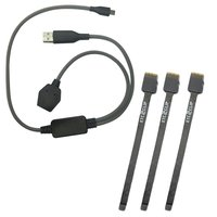 Xtc 2 Clip Spare Cable Set ( 3pcs.) + Y Cable for Xtc 2 Clip