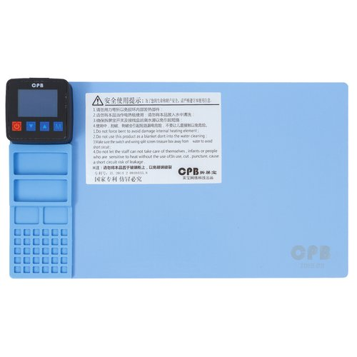 Heating Station (separator/mat) for Cell Phones; Tablets