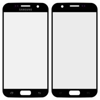 Housing Glass for Samsung G930F Galaxy S7 Cell Phone, (black)