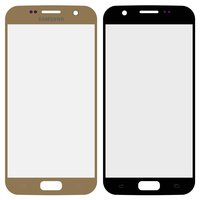 Housing Glass for Samsung G930F Galaxy S7 Cell Phone, (golden)