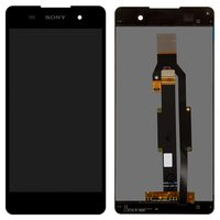 LCD for Sony F3311 Xperia E5 Cell Phone, (black, with touchscreen)