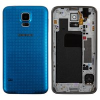 Housing for Samsung G900H Galaxy S5 Cell Phone, (blue)