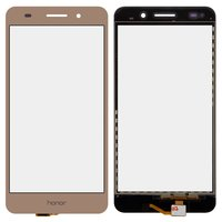 Touchscreen for Huawei Honor 5A, Y6 II Cell Phones, (golden)